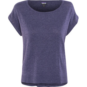 Patagonia Low Tide - Camiseta manga corta Mujer - violeta